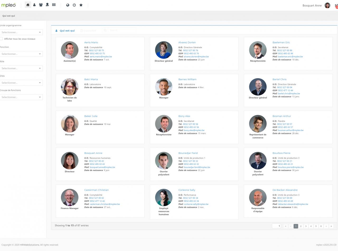 Screenshot MyOrganization 2