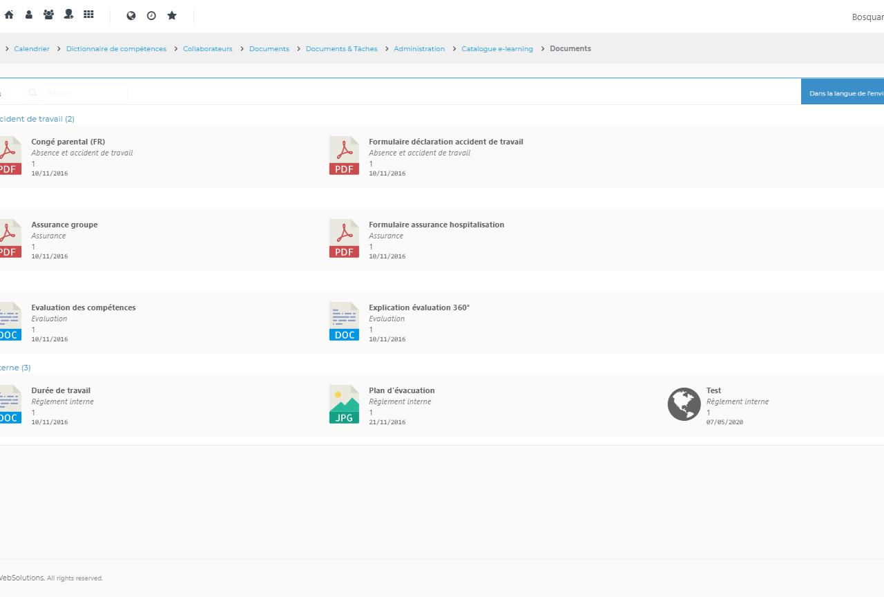 Screenshot MyOrganization 3